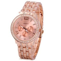 GET $50 NOW | Join RoseGal: Get YOUR $50 NOW!http://www.rosegal.com/watches/geneva-quartz-watch-with-diamonds-80225.html?seid=8186859rg80225