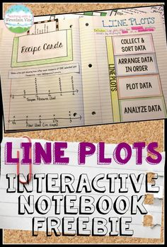 Line Plot Activities and Resources. Includes tons of ideas for teaching line plots as well as a FREE Line Plot Activity and Foldable for Interactive Notebooks!