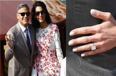 Get The Look: Amal Alamuddin's Emerald Cut Engagement Ring