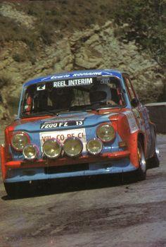 Alain Oreille (Simca Rallye 2) saison 1979 - échappement octobre 1979.