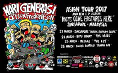 Asian Tour 2017 and New E.P Album Hari Generasi and Buux Frederiksen