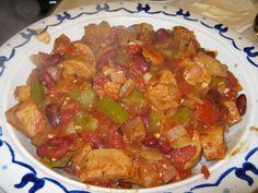 Spicy Vegetarian Jambalaya
