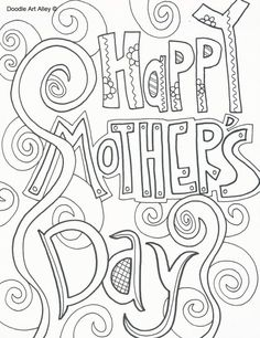 259 Free Mothers Day Coloring Pages For The Kids To Color