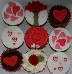 Valentine Cupcake Class