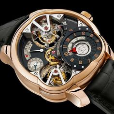 Absolutely stunning detail on the Greubel Forsey Invention Piece 2 Quadruble tourbillon Price: $750000  #GreubelForsey #watch #wristwatch #wristporn #watchporn #Rolex #chanel #fendi #Chloe #Burberry #Cartier #RogerVivier #Ferragamo #Adele #LV #luxury #watches #watchesofinstagram #tourbillon #geneve #StephenForsey by luxury_watchguide