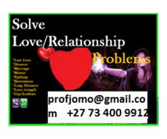 Lost love finder and all relationship problems solutions Port Elizabeth - Port Elizabeth, South Africa - South Africa Free Classified Ads Online