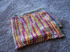 Free Knitting Pattern - Dishcloths & Washcloths : Learn to Purl Dishcloth