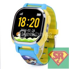 Tencent QQ Watch Smart GPS Tracker WiFi Locating Kids Wrist GSM Watch Phone Voice Chat SOS Alarm for Children Safe Security