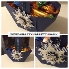Baskets made with the envelope Punch Board