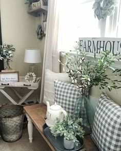 I think this is too much in a small space, but pinning for the ideas to spread out around the house.