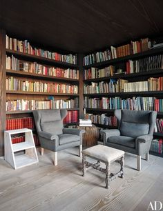 The library | http://archdigest.com