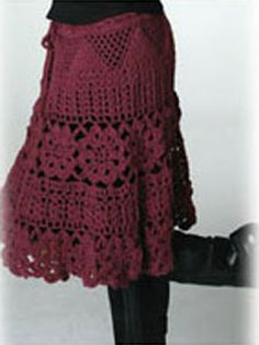 Craft fun and enjoyment: skirts and dresses for adults