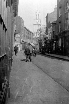 Three Colt Street in 1929. Photo: Island History Trust Collection