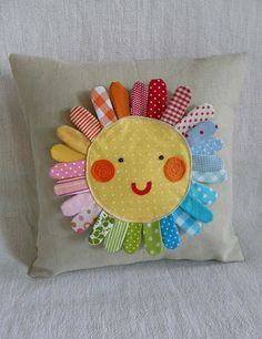 sunshine pillow (no tutorial so you need to figure it out on your own)
