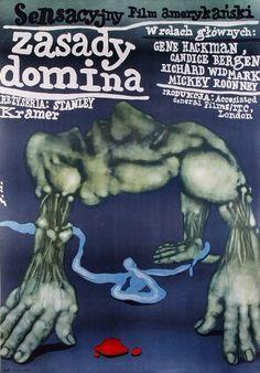 Domino Principle, The, Polish Movie Poster