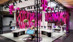 Deutsche Telekom stand by hartmannvonsiebenthal, Hannover   Germany trade fairs exhibitions