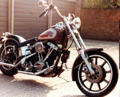 Colin's 1978 Harley Davidson LowRider by Colin William Miller