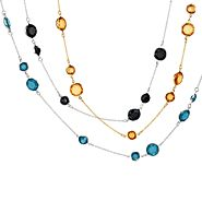 Shop 24/7 @ http://christinahenderson.avonrepresentative.com/    Color Accented Chain Necklace