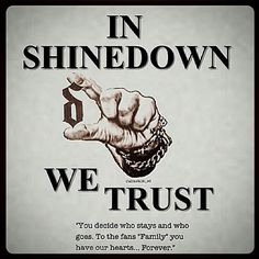 #Repost @callmekim_sd Indeed we do  #Shinedown   Barry Kerch Brent Smith Eric Bass Shinedown Shinedown Nation Shinedowns Nation Zach Myers
