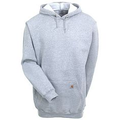 Carhartt Clothing Men's Heather Gray K121 HGY Hooded Pullover Sweatshi