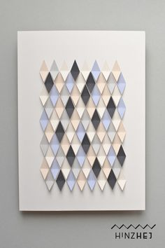 Collagen - Grafisches Kunstwerk aus Papier - ein Designerstück von hinzhej bei DaWanda
