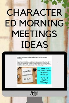 It is tough to find time to teach those social and emotional learning (SEL) skills and character building, but there is an ideal time I have found to incorporate this, and that is in the mornings before lessons take place. All it takes is 5 minutes of guided prompts to get students reflecting on developing their character! #morningmeetings #charactereducation Teaching Character, Character Education, Character Development, Personal Development, Help Teaching, Teaching Resources, Growth Mindset Activities, Responsive Classroom, Core Curriculum
