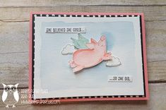 Beth's Paper Cuts: This Little Piggy, No line Watercoloring