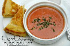 La Madeleine's Tomato Soup