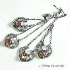 Jesienne inspiracje - rezerwacja Biżuteria Kolczyki Monika Laskowska
