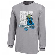 Now Blue Raider fans can celebrate their school pride with the power of the Force sporting a new collection of apparel and accessories featuring iconic designs from the Star Wars saga. #MTSU #textbookbrokers #blueraiders