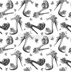 depositphotos_62903687-Seamless-fashion-pattern-with-women-shoes-high-heels-flowers-and-butterfly.jpg (450×450)