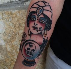 fuckyeahtraditionaltattoos:  Ivan Antonyshev - Austin, TX