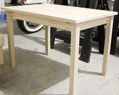 How to build a DIY Kids Play Table Small Kids Table, Kids Play Table, Toddler Table, Kids Table And Chairs, Kid Table, Lego Table, Baby Table, High Chairs, Childrens Play Table