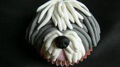 Sheepdog Cupcake!