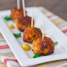 Sweet Potato Turkey Meatballs - an interesting combination of ingredients gives you the most superb meatballs.
