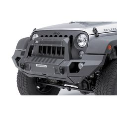 d63bf90cec Go Rhino 230120101T Front Bumper with Full End Caps and Rockline Light  Mount Bar for 07-18 Jeep Wrangler and Wrangler Unlimited JK