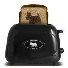 Pet Toast Dog Scottish Terrier This is a cute idea. I don't want one, but it is funny anyway.