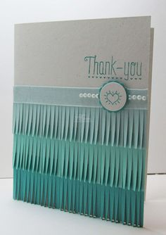 Stampin' Up! Thank You Card by Lyssa Z