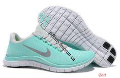 Tiffany Blue Nike Free 3.0 V4 Womens Blue White Silver 511495 300 [Tiffany Free Run 1133] - $48.93 : Tiffany Free Runs,Cheap Tiffany Free Runs,Tiffany Blue Nikes