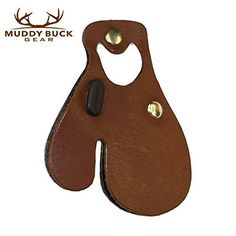 Muddy Buck Gear Leather Finger Tab Brown