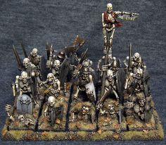Skeleton regiment
