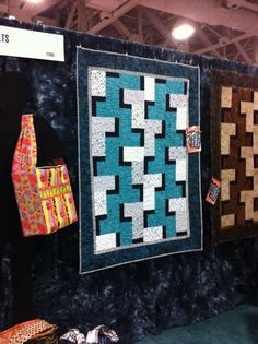 Stackables 1 quilt by Maple Island Quilts  really like