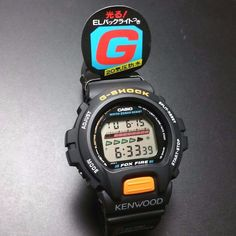 G-SHOCK DW-6600 X KENWOOD LIMITED EDITION RARE 6600 SERIES #GSHOCK #CasualVintage