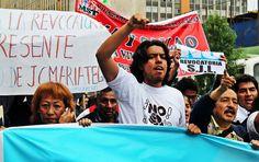"""""""Susana el pueblo está contigo"""" / Foto: Leidy Benites - Spacio Libre."""