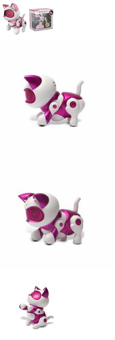 iDog iCat and iFish 119394: Tekno Newborns Electronic Robotic Pet Interactive Kitty Cat Pink ~ New 2016 -> BUY IT NOW ONLY: $32.99 on eBay!