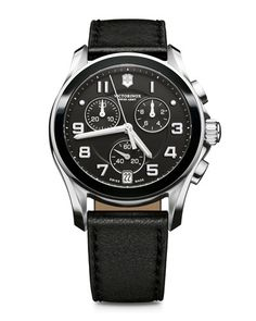 N1ZJA Victorinox Swiss Army Ceramic-Bezel Chronograph Watch