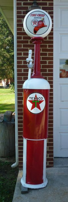 Vintage Wayne Curb Gas Pump by AntiquesNXS on Etsy, $2400.00 ... I LOVE this ... <3 <3 <3