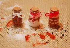 """""""Under the Rainbow"""" - Hand-painted glass: Мартенички от сол и червен пипер - Направи си сам"""