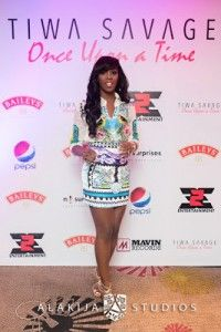 Over the weekend, music artiste, Tiwa Savage organised the listening of her new album titled -Once Upon a Time-