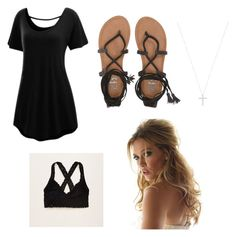 """5/24 ootd"" by bekahmartinez ❤ liked on Polyvore featuring Billabong, Tiffany & Co. and Aerie"